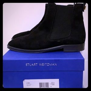 SW Black Suede Boots